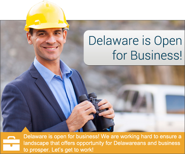 Delaware is Open for Business!